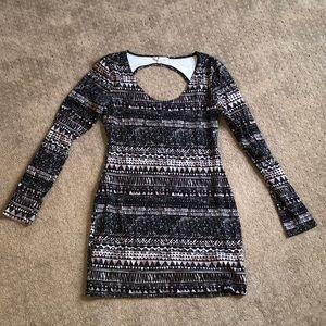 Volcom bodycon mini dress